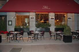 Terraza Restaurante La Llave de Oro.