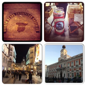 Paseo navideño por la Puerta delSol!!