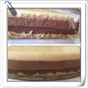 TARTA TRES CHOCOLATES.
