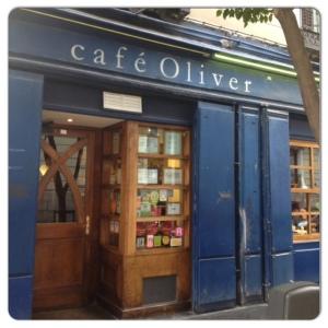 Fachada Café Oliver