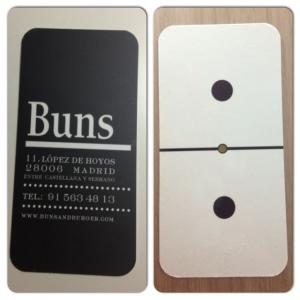 Buns tarjeta
