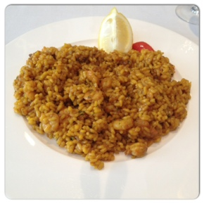 Sant James. Arroz exquisito en Madrid.