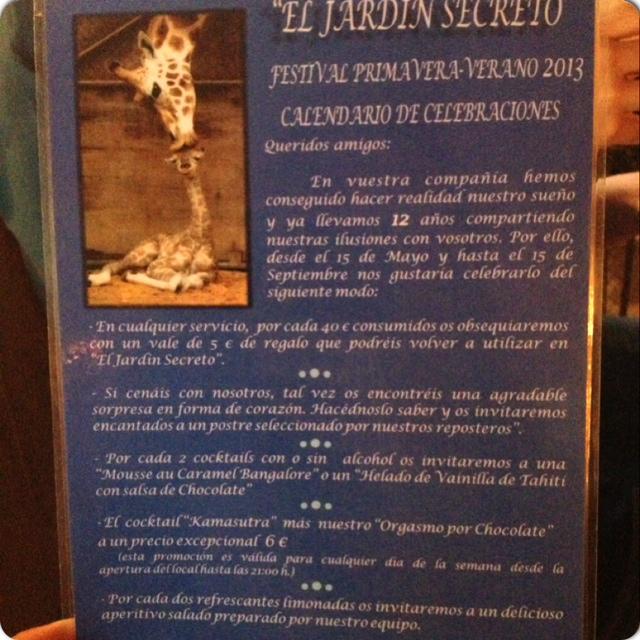 Paseando por la zona de conde duque el cuaderno de rachel - El jardin secreto restaurante madrid ...