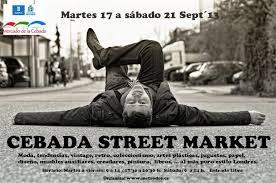 CEBADA STREET MARKET.