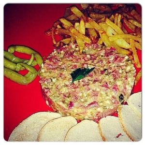Steak Tartare Cabaña Marconi