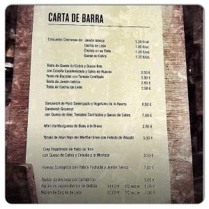 Carta Barra Corinto