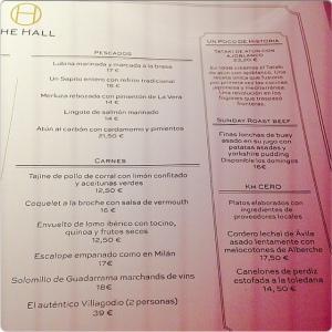 The Hall carta I