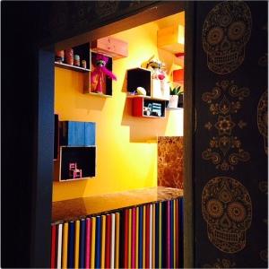 Taquería Lupita decoración