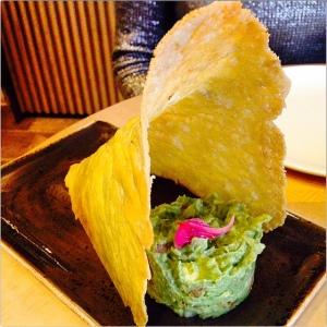 Taquería Lupita queso y guacamole