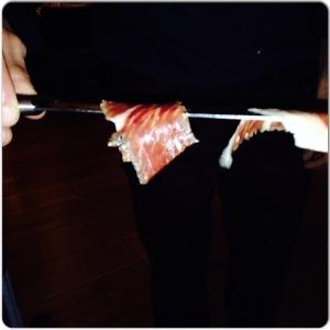 LA CONTRASEÑA cortador de jamón