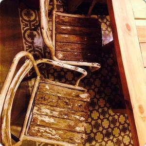 LA CONTRASEÑA sillas patio