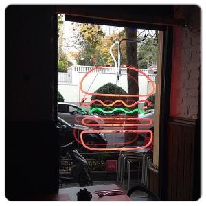 GOIKO GRILL luminoso hamburguesa