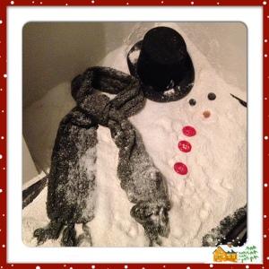 THE HOVSE Muñeco de nieve