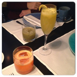 BEKER6 Zumo detox, zumo kiwi y mimosa
