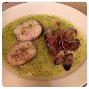 GUITO´S merluza en salsa verde
