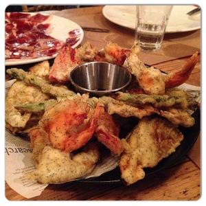 GUITO´S tempura de verdura
