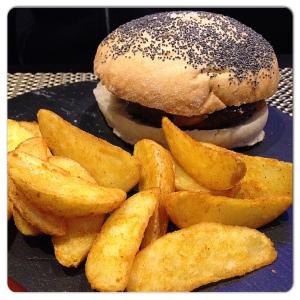 Cilantro hamburguesa