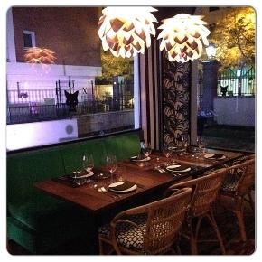 """Restaurante FOX  Madrid!! El """"it restaurant"""" deMadrid."""