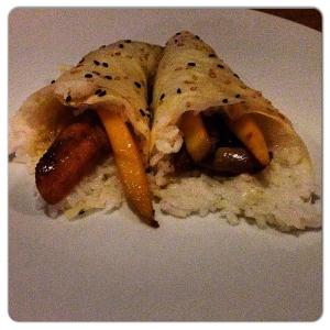 FOX TEMAKI foie y mango