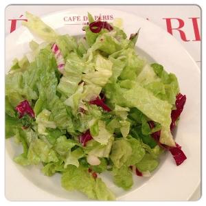 CAFÉ DE PARIS ensalada