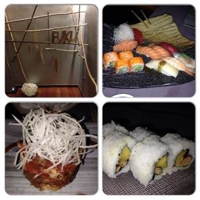 FUKU!! Sushi delicioso en un local muyacogedor.