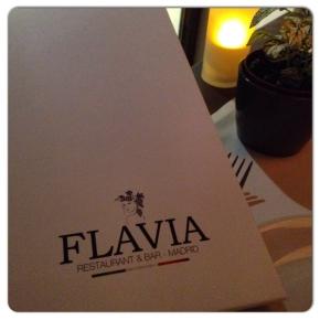 FLAVIA Restaurant & Bar. Glamour y cocina italianadeliciosa.