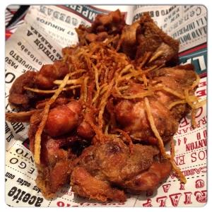 LA IMPERIAL DE RAIMUNDO alitas de pollo deshuesadas con bacon