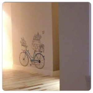 LA PILLA bici pintada pareg