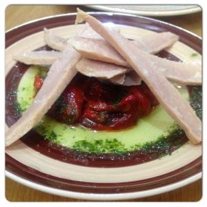 MARTINICA ensalada ventresca y pimientos