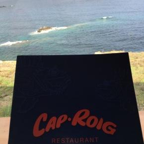 Vistas increíbles y comida deliciosa en Cap Roig(Menorca)